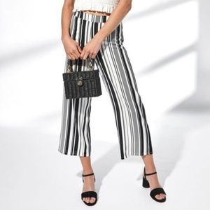 Kendall and Kylie Striped Woven Pants